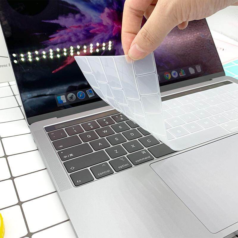 New Silicone Utra Thin Keyboard Cover US version For MacBoook Pro 13 15  2016 2017 2018 With Touch Bar Anti-dust A1707 A1706 A1989 A2159 A1990