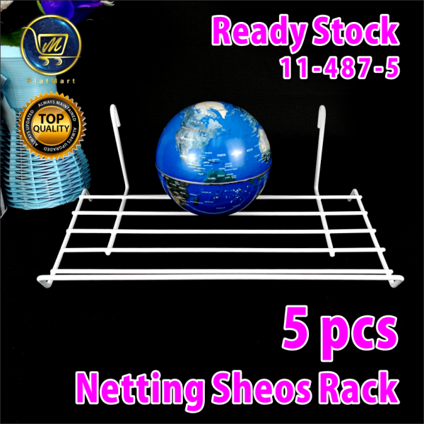 PlatMart - [READY STOCK] 5 pcs NETTING SHEOS RACK 11-487-5