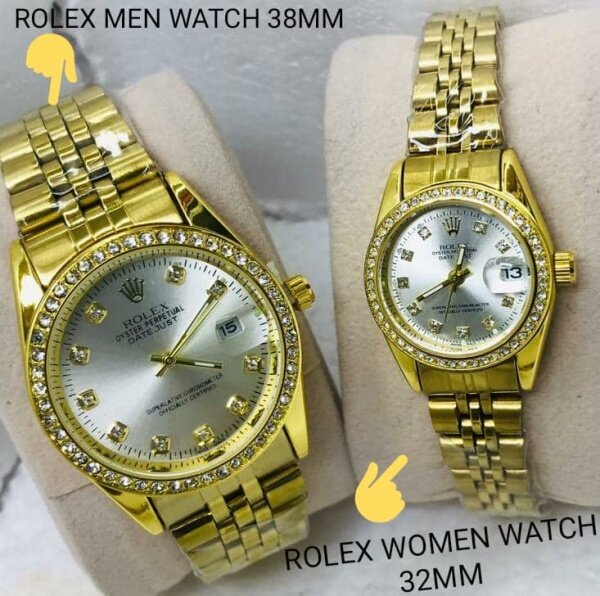 ROLEX_BATTRY COUPLE MAN & WOMEN WATCH Malaysia