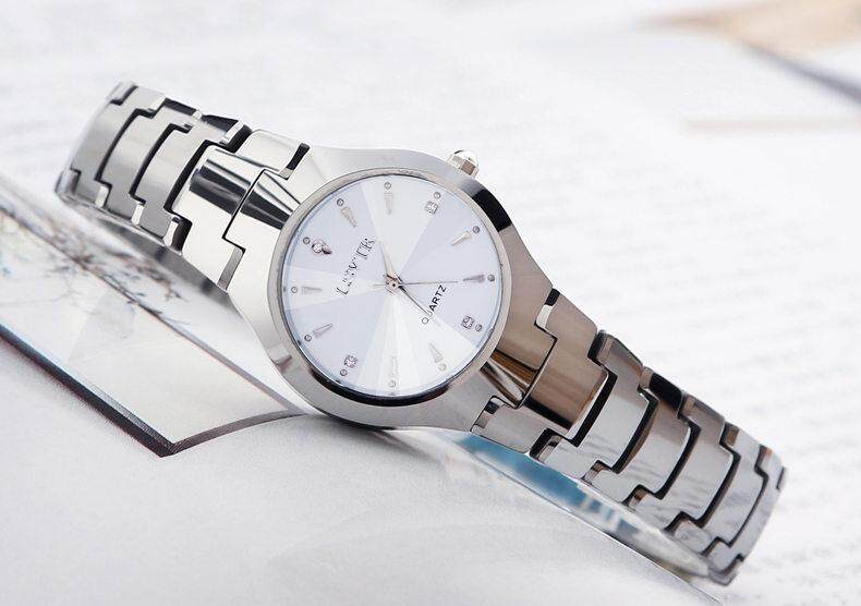 LSVTR Couple Watch Tungsten Steel Stainless Steel Fashion Luxury Classic business Wrist Watch 2019 FWCP 01 Malaysia