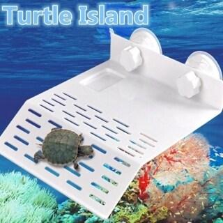 Kệ Leo Bằng Nhựa TIE70363, Hồ Cạn Aquarium Trang Trí Bến Tàu Đế Rỗng Cho Đảo Rùa thumbnail