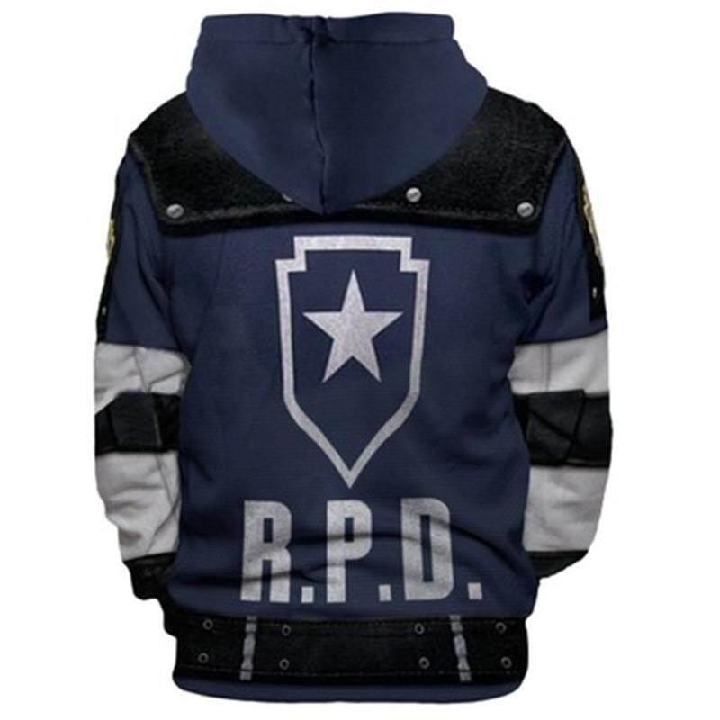 Resident Evil RPD STARS costume Raccoon Hoody Jacket Sweater Hoodie Cosplay 2019