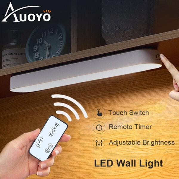 Auoyo Đèn LED từ tính loại nhỏ có thể xoay được và điều chỉnh độ sáng