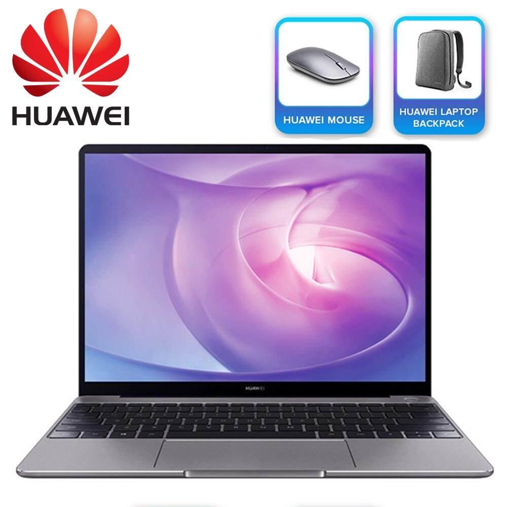 Huawei MateBook 13 13 FHD+ IPS Laptop Space Gray ( i5-8265U, 8GB, 256GB, MX150 2GB, W10 ) Malaysia
