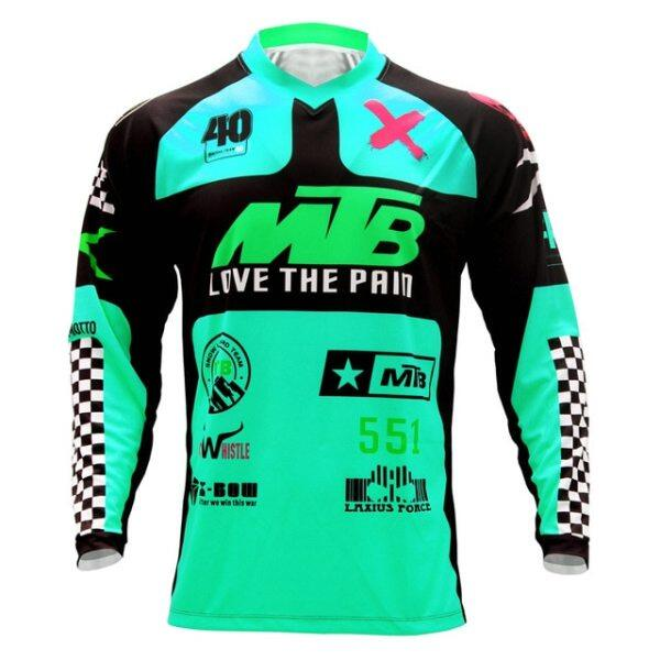 Mua Áo Jersey Enduro Xuống Dốc Moto Jersey Áo Thi Đấu Đua Xe Đạp Địa Hình Ngắn Tay, Áo Đạp Xe ATV MX, Áo Sơ Mi Nam BMX