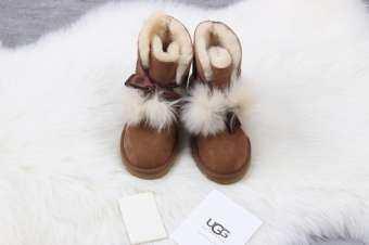 UGG ผู้หญิง Polar Star Sky รองเท้าบูตลุยหิมะสำหรับผู้หญิงรองเท้าอบอุ่น