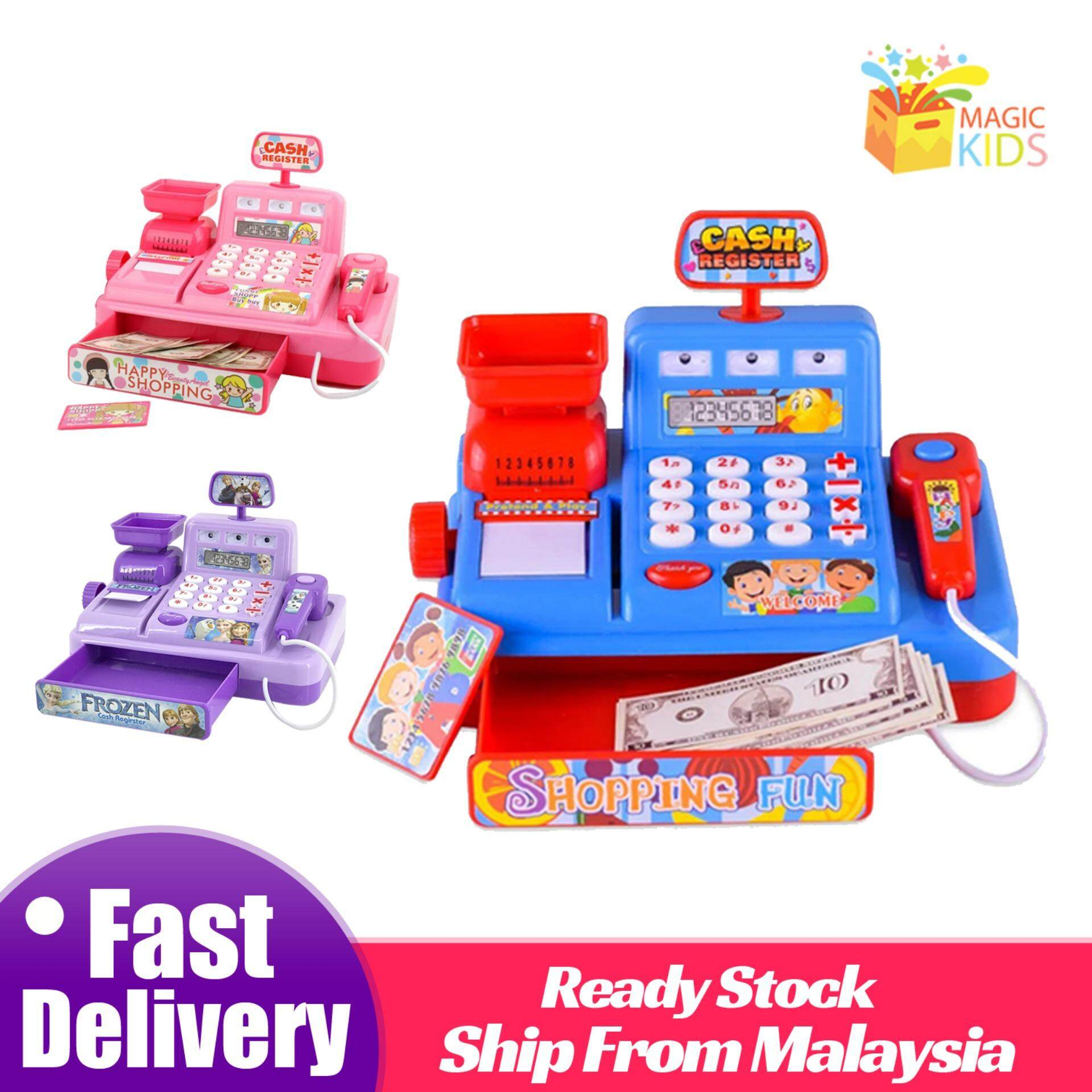 Cash Register Toys Pretend Play Cashier Toy By Magic Kids