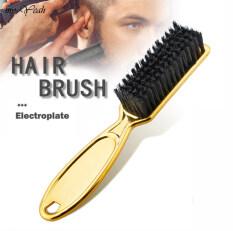 Chuyên Nghiệp Làm Sạch Bàn Chải Retro Dầu Đầu Bàn Chải Quét Cổ Salon Làm Sạch Bàn Chải Tóc Vàng Xử Lý Comb Men Barber Công Cụ
