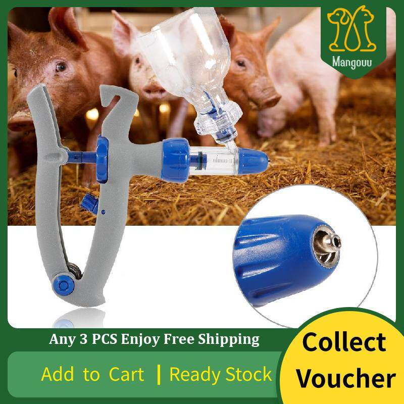 Pet Syringe Vaccine Injection Injector Syringe for Livestock Cattle Farm Animals