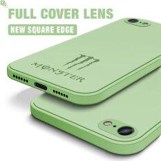Ốp Lưng Hontinga Cho iPhone 6 6S 7 8 Plus SE 2020 Ốp Lưng Thời Trang Monster Energy Silicone CẠNH VUÔNG Điện Thoại Vỏ Bọc Toàn Bộ Camera Chống Sốc Ốp Lưng Cao Su Cho Bé Gái