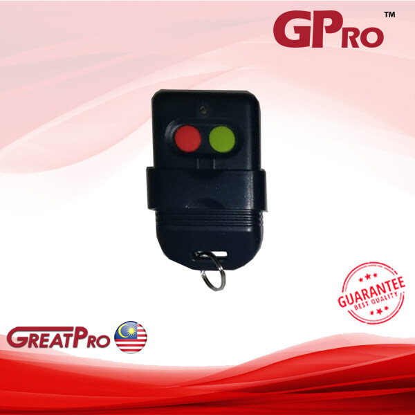 GPRO 330MHZ REMOTE KEYCHAIN ADD-ON ONLY FOR DOOR ACCESS, ALARM & AUTOGATE SYSTEM -GREATPRO