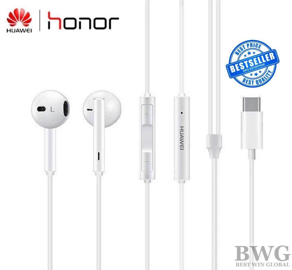 Original Huawei CM33 Type C Headset Wire Control In-Ear Earphone with Mic For Huawei