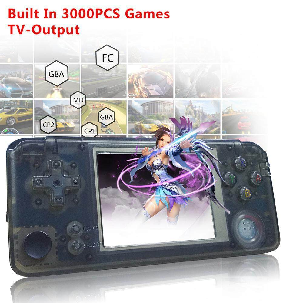 Leegoal Portable Handheld Game Console - 3 Video Game Console Built-In 3000 Classic Games, Best Birthday Christmas Presents For Children/kids/teens By Leegoal.
