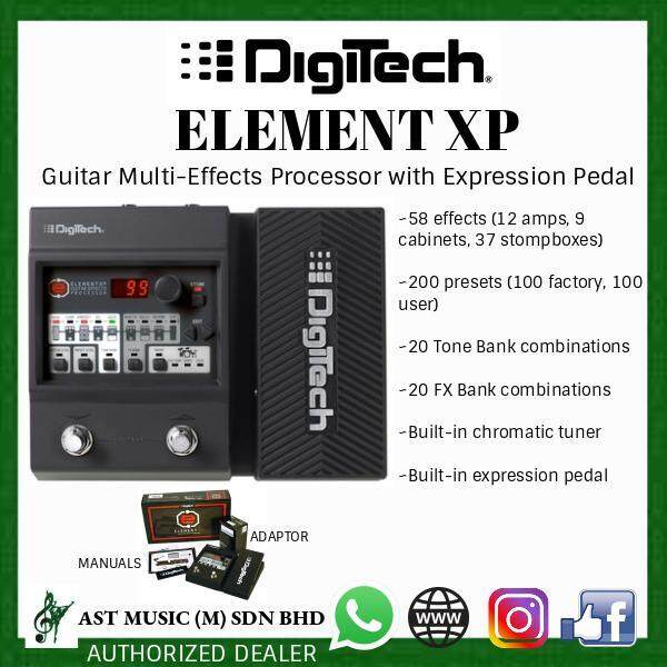 DigiTech Element XP Guitar Multi-Effects Processor with Expression Pedal (LIMITED) Malaysia