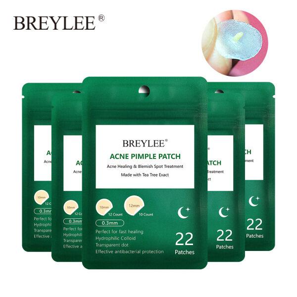 Buy BREYLEE 5PCS Night Use Acne Patches Pimple Stickers Tea Tree Oil Skincare Singapore