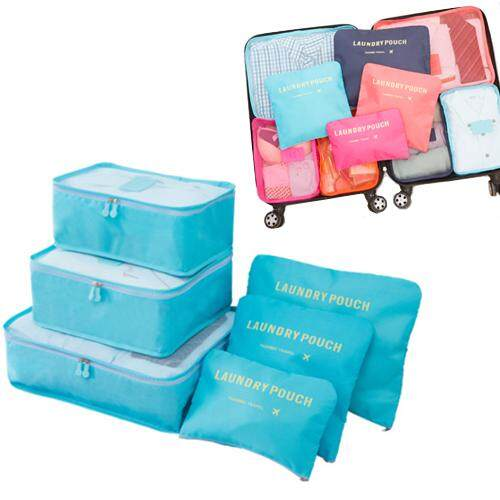 Travel Organizer Bag Square Luggage Storage Bags Clothes Pouch Case By Blisshome Online Shop.