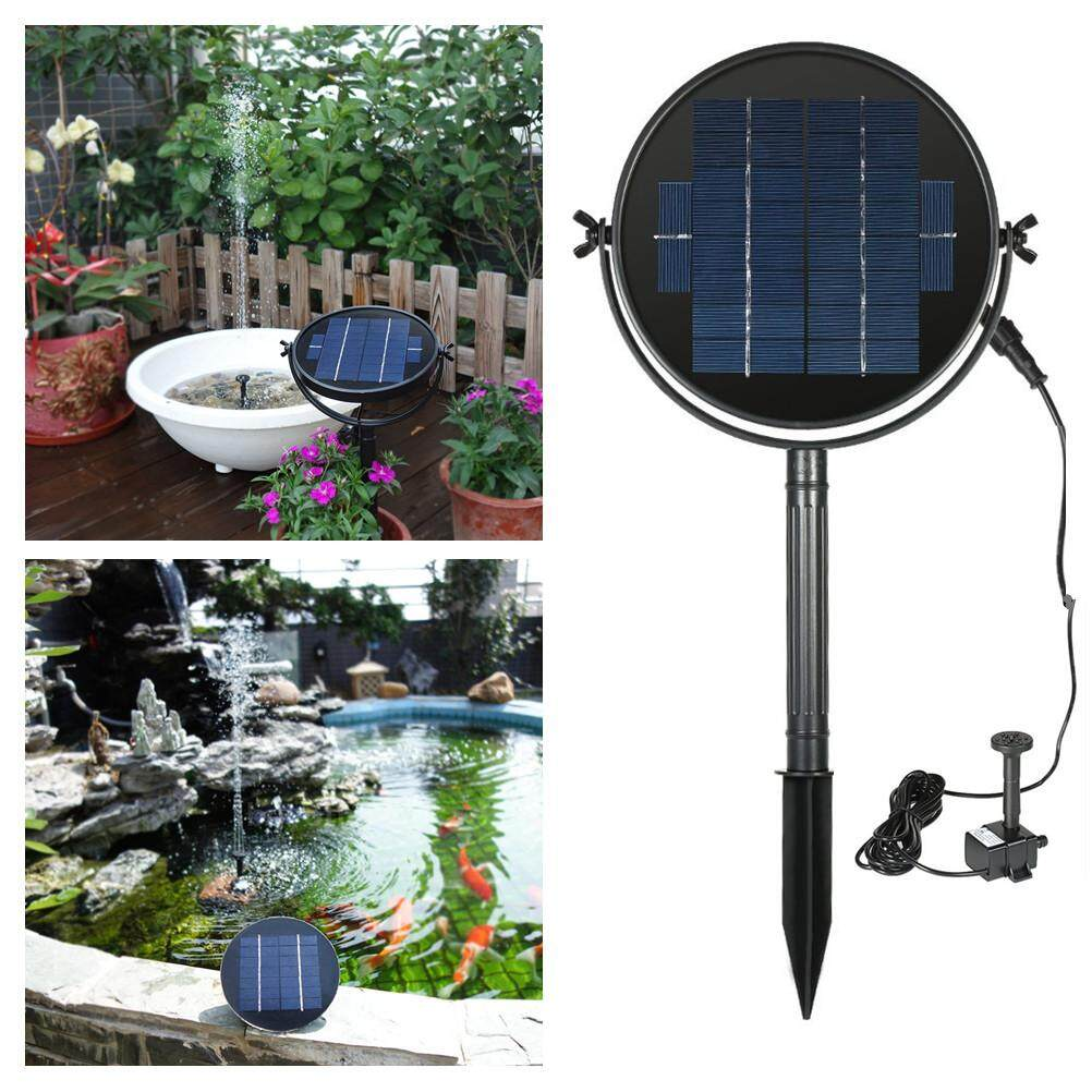 RD Solar Water Fountain Brushless Submersible Water Pump