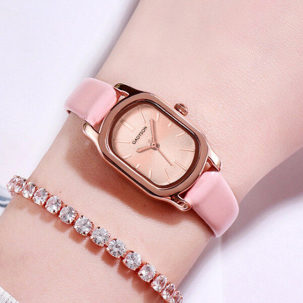 MRO Watches Women Popular Quartz Watch Luxury Bracelet Flower Gemstone Wristwatch Malaysia