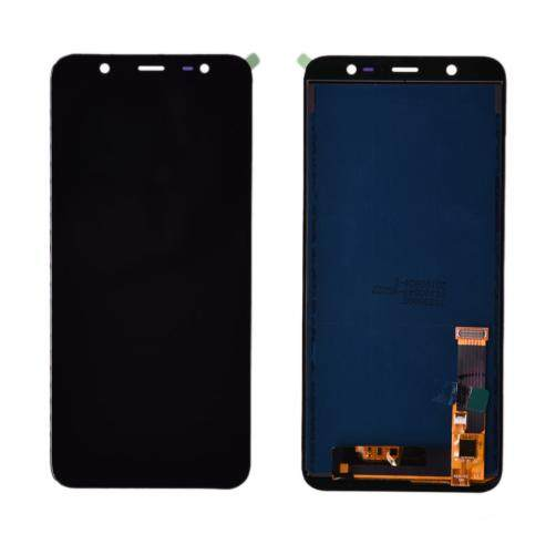 LCD Layar Pendigit untuk Samsung Galaxy J8 2018 J810F Layar LCD Lengkap Panel Layar Sentuh Digitizer Perbaikan Parts 6.0 Inches
