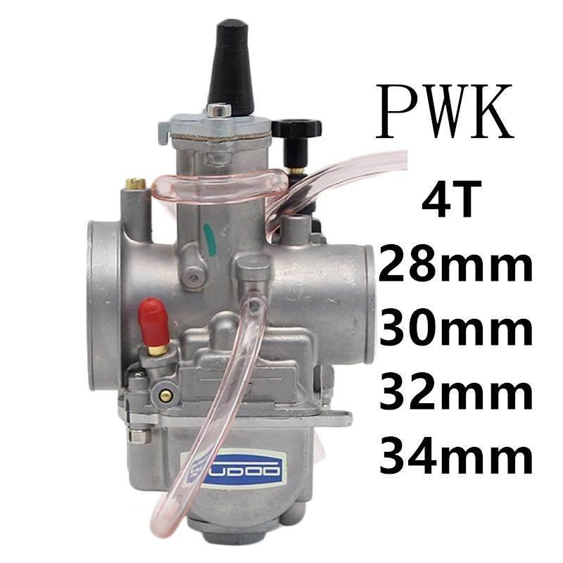 YC Motors 4T Engine Carburetor Carburador 34mm With Power Jet For PWK  Keihin Honda Yamaha Racing Motor