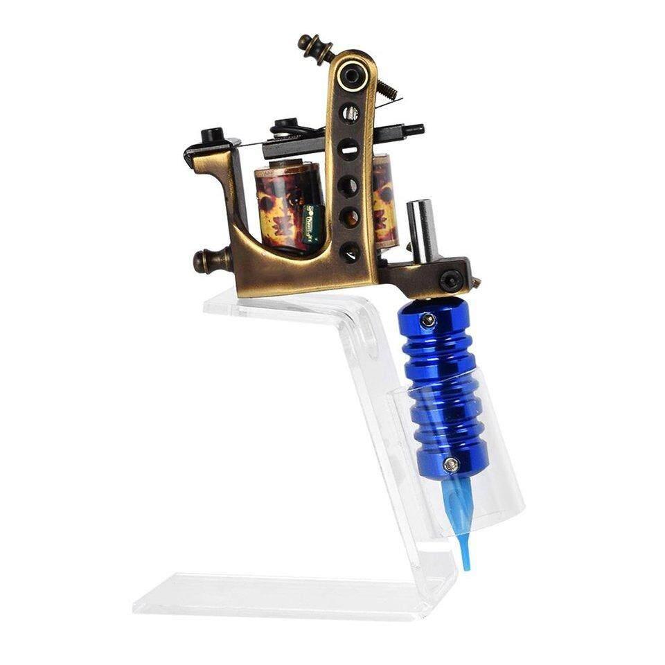 Allwin Acrylic Trong Suốt Hình Xăm Giá Đỡ Thường Trực Trang Điểm Bút Máy Giá Đỡ Đứng nhập khẩu