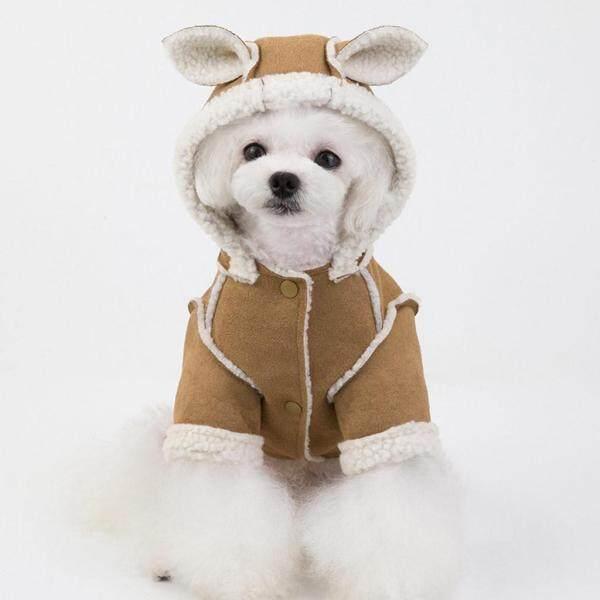 Váy Kikipet Miễn Phí Vận Chuyển Áo Cho Chó Cưng Cod Áo Khoác Nỉ Có Mũ Gấu Cho Chó Con Áo Khoác Ấm Cho Mèo Thú Cưng
