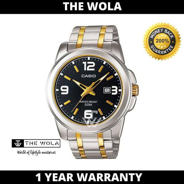 (100% Original CASIO) CASIO Men Casual Watch MTP-1314SG-1AVDF (watch for man / jam tangan lelaki / Casio watch for men / Casio watch / men watch / watch for men) Malaysia