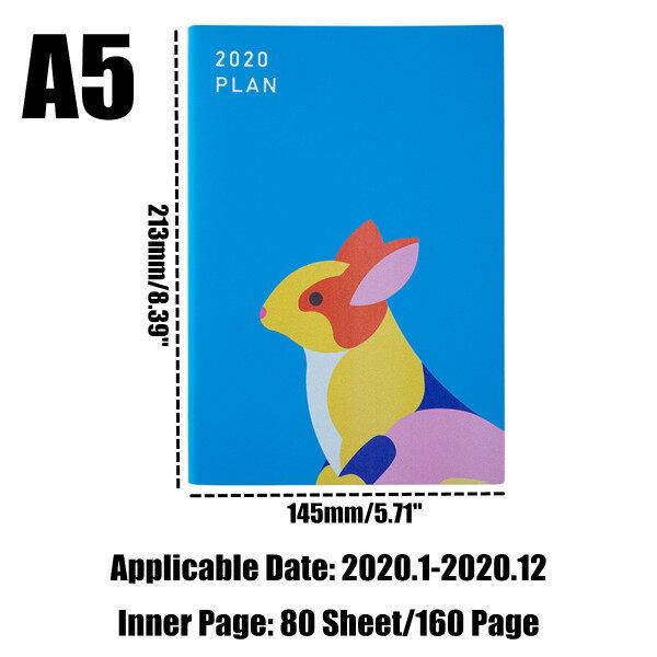 Mua Bao Da Notebook A5 Zodiac 2020 Nhật Ký Nhật Ký Tuần Lễ Sách Lịch Kế Hoạch Học Sinh-Chó
