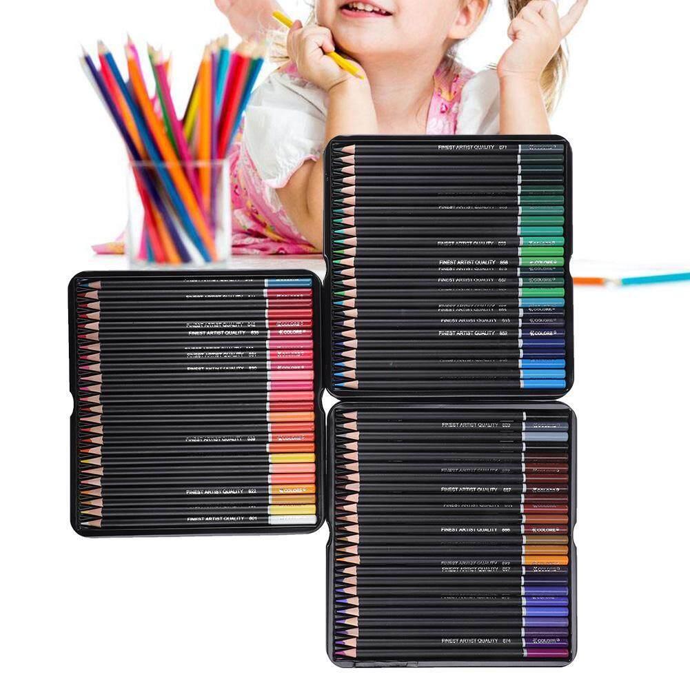 Mua (Đạt Chứng Nhận vàng Qianmei) 72 Màu Sắc Gỗ Cần Bộ Bút Chì Màu Có Hộp dành cho Nghệ Thuật Vẽ Tranh
