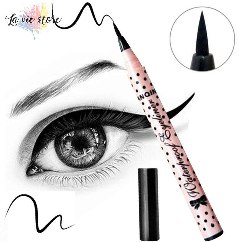 Kamus Lihat Makeup Kecantikan Hitam Eyeliner Tahan Air Tahan Lama Wanita Celak Cair Pena Pensil Make Up Kosmetik Alat Menggemaskan