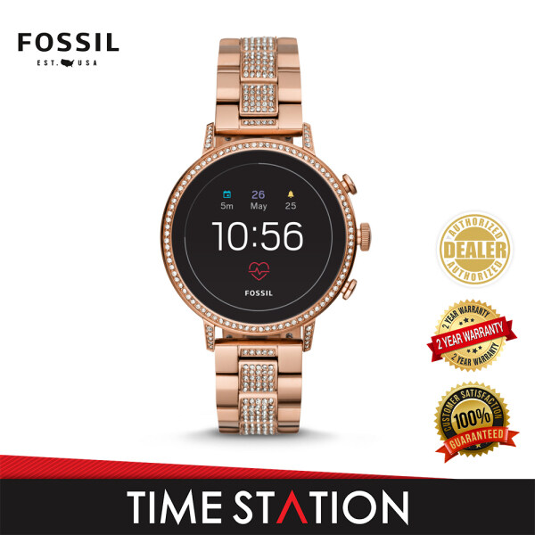 Fossil Venture Gen 4 HR Stainless Steel Womens Smart Watch FTW6011 Malaysia