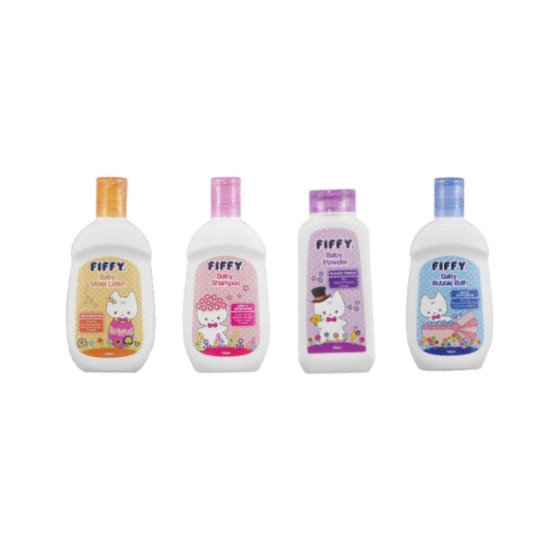 Fiffy Toiletries Gift Set (4 Bottles) By Fiffy Online.