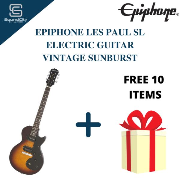 EPIPHONE LES PAUL SL Electric Guitar Vintage Sunburst ( Epiphone Guitar ) Malaysia