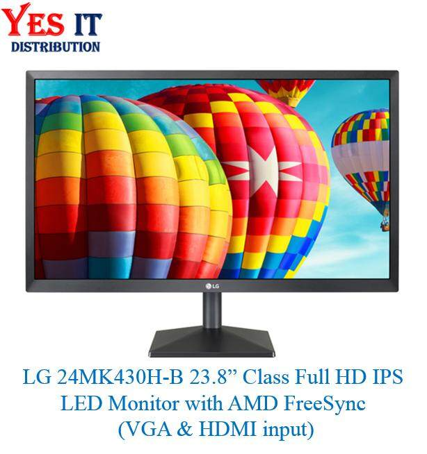 LG 24MK430H-B 23.8inch Class Full HD IPS LED Monitor with AMD FreeSync (VGA & HDMI input) Malaysia