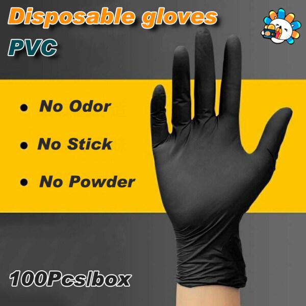 10-100pcs Disposable sanitary Gloves Nitrile Gloves S/M/L Kitchen Household Vinyl Latex Food afety gloves
