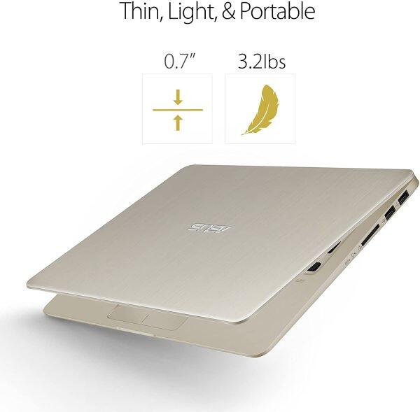 ASUS VivoBook S Thin & Light Laptop, 14 FHD, Intel Core i7-8550U, 8GB RAM, 256GB SSD, GeForce MX150, NanoEdge Display, Backlit Kbd, FP Sensor Malaysia
