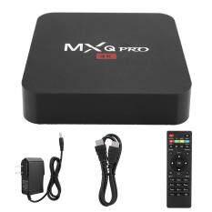 Hộp tivi thông minh YIKANG MXQ PRO 4K RK3229 1 kèm wifi BT STB 8G, phụ kiện thông minh cho Android 7.1 HD (phích cắm EU) – INTL