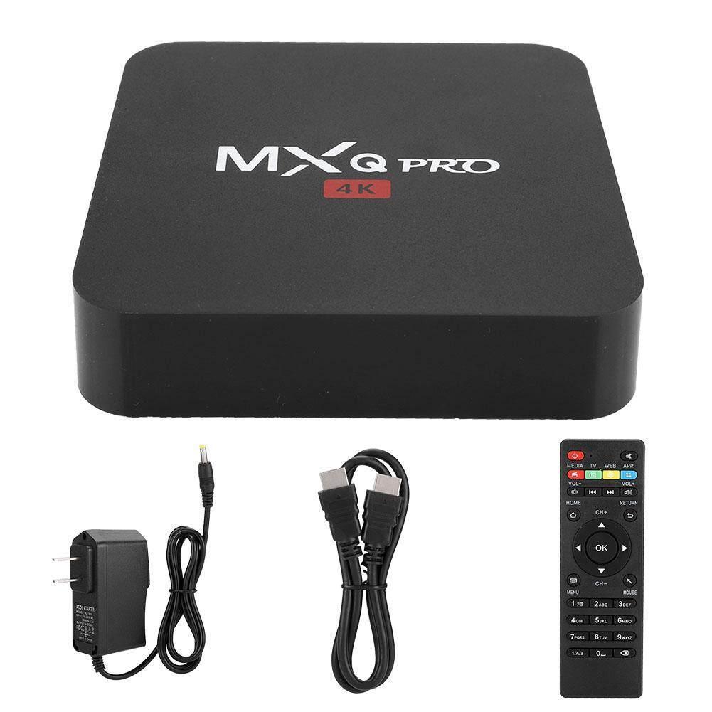 Hộp tivi thông minh YIKANG MXQ PRO 4K RK3229 1 kèm wifi BT STB 8G, phụ kiện thông minh cho Android 7.1 HD (phích cắm EU) - INTL