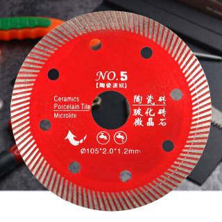 Lưỡi Cưa Kim Cương Đỏ Cho Bê Tông Gạch Đá Hoa Cương Đá Cẩm Thạch Đá Đĩa Cắt Bê Tông 105Mm thumbnail