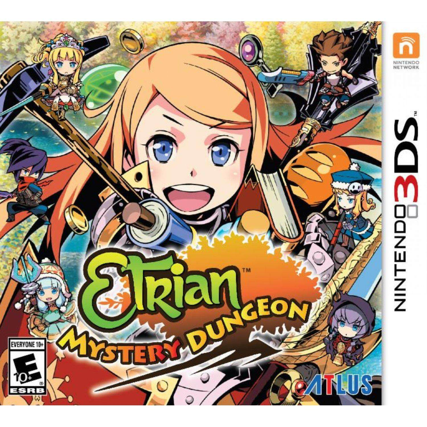 3DS Etrian Mystery Dungeon (English)