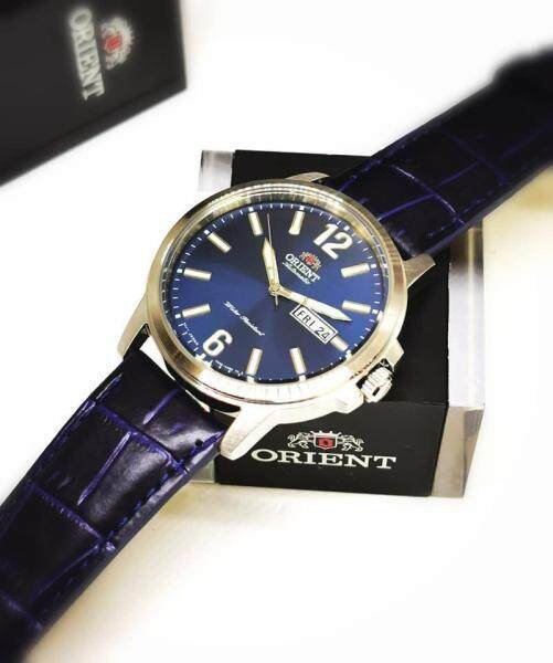 [Original] Orient RA-AA0C05L19B Automatic Blue Leather Analog Men Classic Dress Watch RA-AA0C05L Malaysia