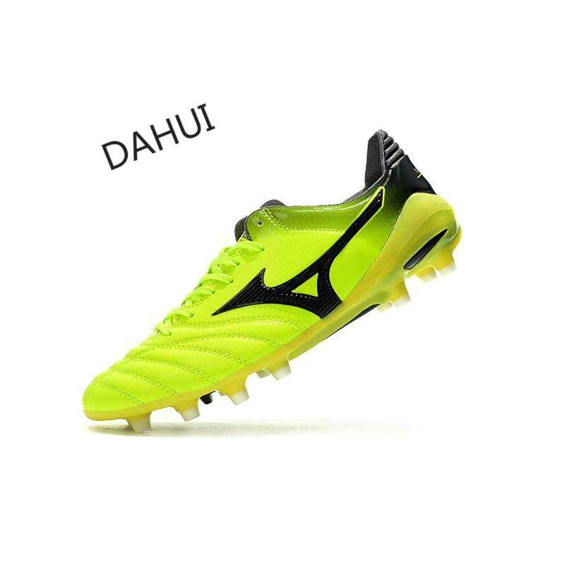 Football Boots Superfly Original Fg Football Shoes Mens Soccer Shoes Morelia Neo Ii Made Leather Football Shoes (yellow) By Taishandahui.