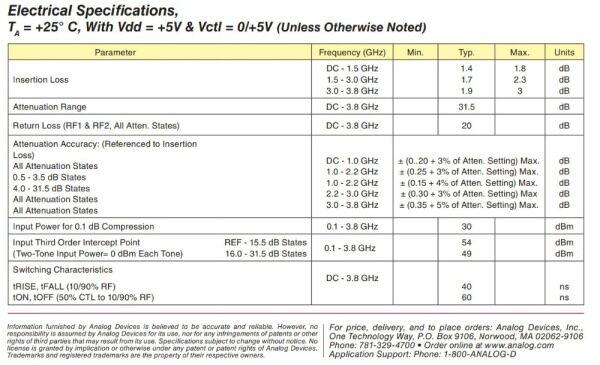【Giao Hàng Miễn Phí】 Điều Khiển Bộ Suy Giảm RF Lập Trình Kỹ Thuật Số Dykb 1 MHz-3800MHz 0-31db Bước Điều Chỉnh 1 DB PC Giao Diện SMA Có Thể Điều Khiển 50Ω