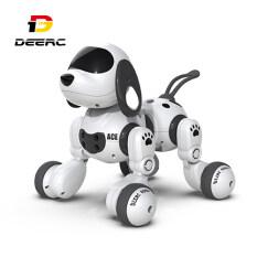 Đồ chơi robot deerc cho trẻ em, robot điều khiển từ xa có thể lập trình, robot RC thông minh với cảm biến cử chỉ, Bộ Robot có mắt LED, đi bộ, nói chuyện, hát, khiêu vũ, quà tặng tương tác cho bé trai và bé gái