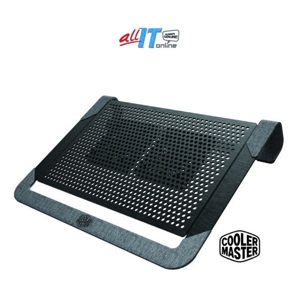 Cooler Master NotePal U2 Plus V2 Premium Aluminium Notebook Cooling Pad (MNX-SWUK-20FNN-R1) Black Malaysia