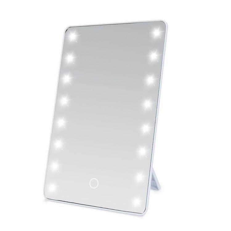 Đèn LED Vuông Gương Trang Điểm Có Đèn Chân Đế Di Động Có Thể Gập Lại Độ Sáng Điều Chỉnh giá rẻ