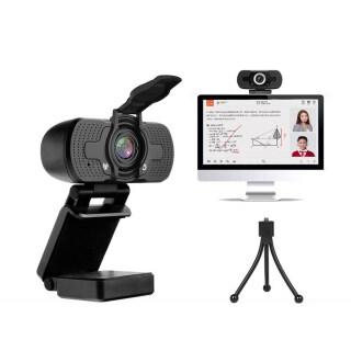 Webcam Milageto Cho PC Có Micro, Webcam 1080P Có Vỏ Bảo Mật, Cắm Và Chạy Máy Ảnh Web USB Cho Máy Tính Xách Tay Máy Tính Để Bàn TV, Máy Quay USB Để Gọi Video thumbnail