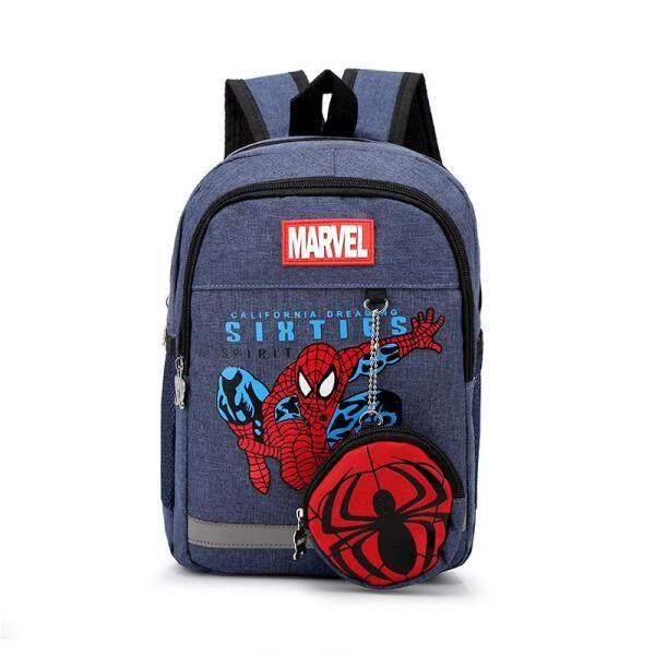 ❤️Cutiebaby Children Kids Students Cartoon School Bag Large-capacity Backpack Pocket