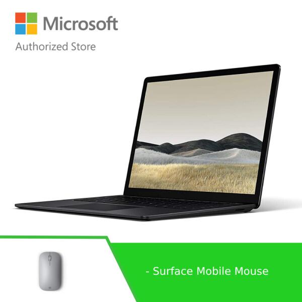 [DEALS] Microsoft Surface Laptop 3 15-inch AMD Ryzen™ 5 3580U/8GB/256GB - Black + Surface Mobile Mouse Malaysia