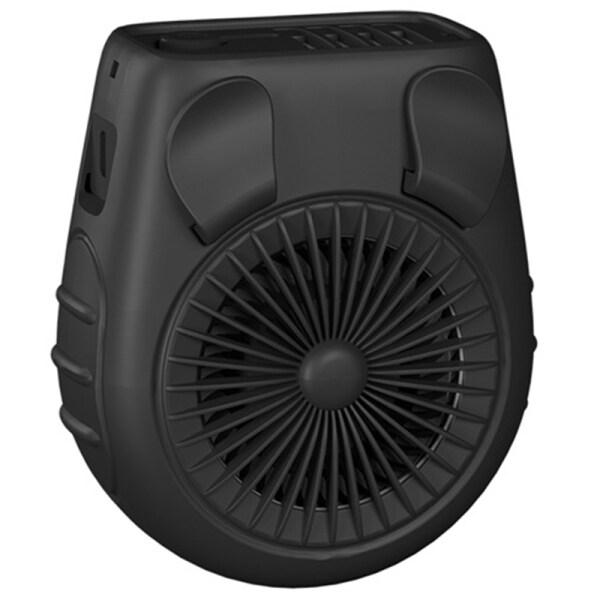 5000MAh Battery Operaed Personal Waist Clip Portable Belt Fan, 3 Speed, Quiet, ,Rechargeable USB Fan Cooling Fan